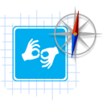 hands signing icon
